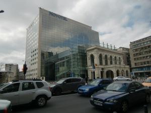 The Novotel Hotel, Bucharest.