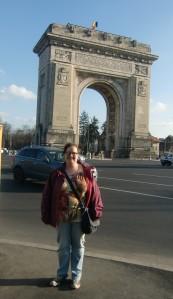 Bucharest's mini Arc de Triumph